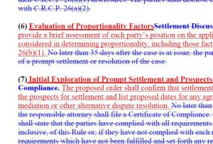 2015 CRCP Amendments Redlines